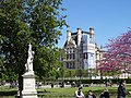 Pavillon de Flore from Tuileries, Paris 1 May 2016.jpg