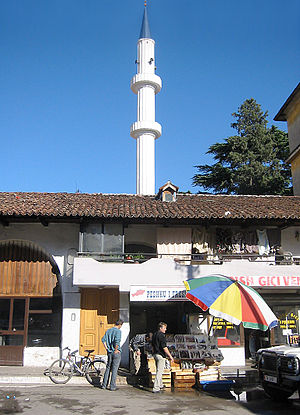 Kokonozi Mosque - Minaret of the Kokonozi Mosque