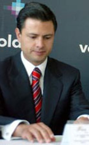 Enrique Peña Nieto - Peña Nieto as Governor of the State of Mexico in 2006.
