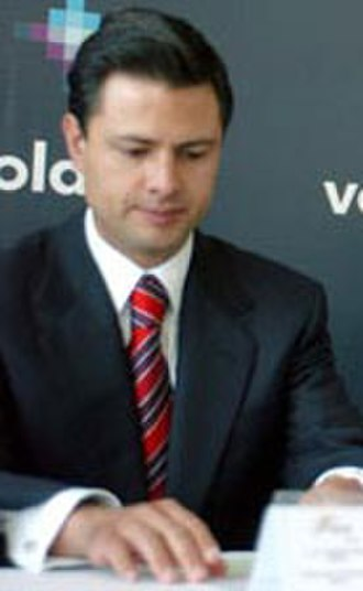 Enrique Peña Nieto - Peña Nieto as Governor of the State of Mexico in 2006.