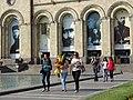Pedestrians in Republic Square - Central Yerevan - Armenia (18338204504).jpg