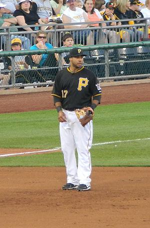 English: Pedro Alvarez of the Pittsburgh Pirat...