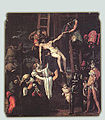 Pedro Machuca - Descent from the Cross (with original frame) - WGA13801.jpg