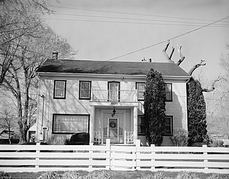 Peleg Brown Ranch - Image: Peleg Brown Ranch house