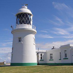 Pendeen - Pendeen Lighthouse at Pendeen Watch