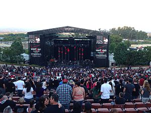 Irvine Meadows Amphitheatre (Irvine, California) - Venue during Epicenter 2013