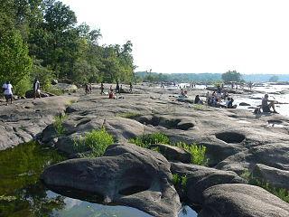 Belle Isle (Richmond, Virginia) United States historic place