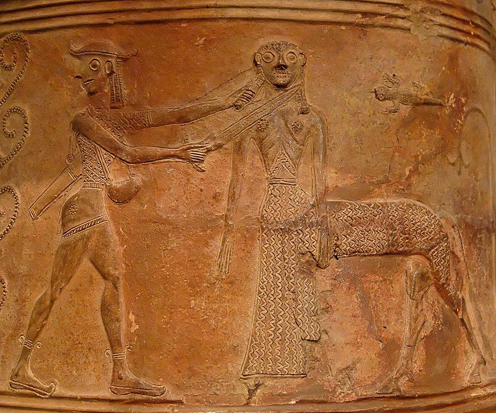 Perseus Medusa Louvre CA795