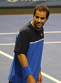 Sampras ended the year at number 1 for the fifth straight year