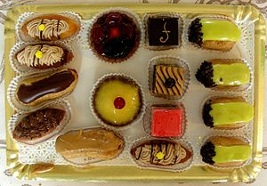 Petit four - French assortment of petits fours