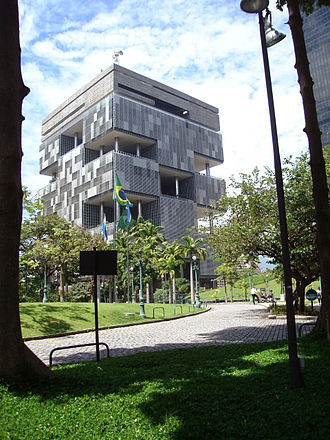 Petrobras - Petrobras headquarters in downtown Rio de Janeiro.