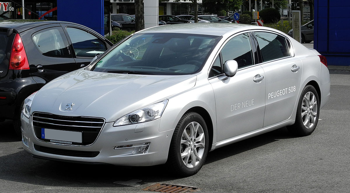Peugeot 508 - Simple English Wikipedia, the free encyclopedia