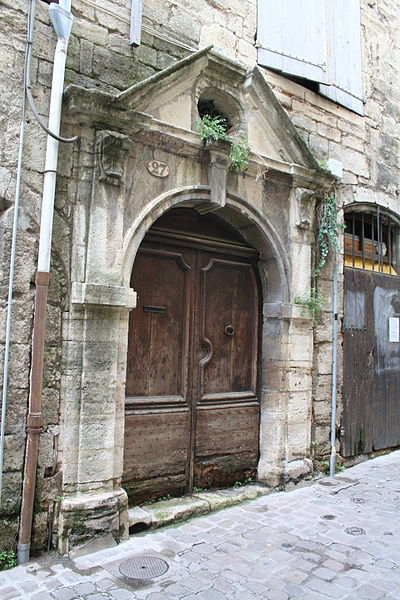 Pézenas (Hérault) - Rue de la Foire - Porte n° 27.