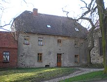 Das Pfarrhaus in Hohendodeleben, Matthisons Geburtshaus (Quelle: Wikimedia)