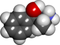 Phenylpropanolamine spacefill.png