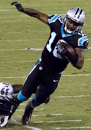 Corey Brown (American football) - Brown with the Carolina Panthers in 2016
