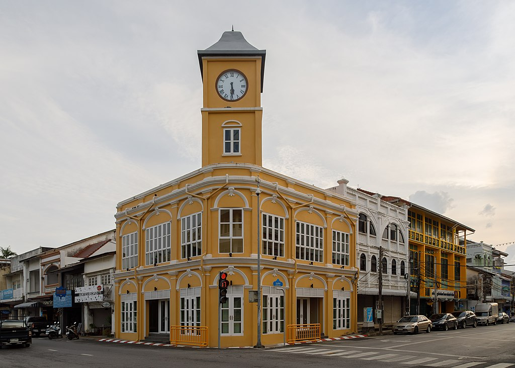 history of phuket city