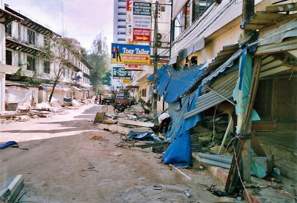Phuket after tsunami (2004)