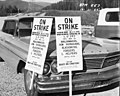 Picket signs at Boundary Dam site, 1965 (49826599332).jpg