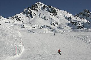 Mont Gelé (Riddes) mountain in Switzerland