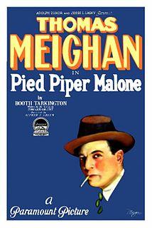 <i>Pied Piper Malone</i> 1924 film by Alfred E. Green