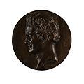 Pierre-Jean David d'Angers - Portrait Medallion of Friedrich Wilhelm Heinrich Alexander von Humboldt (1769-1859) - Walters 54842.jpg