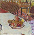 Pierre Bonnard, 1939 - Table with Bowl of Fruit.jpg