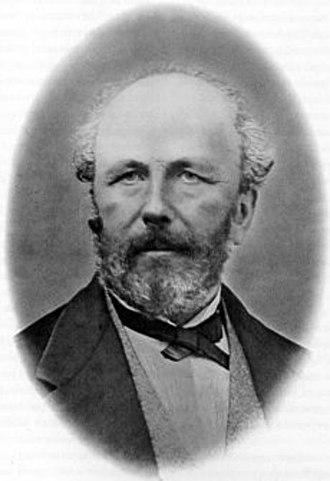 Pierre Edmond Boissier - Portrait of Edmond Boissier
