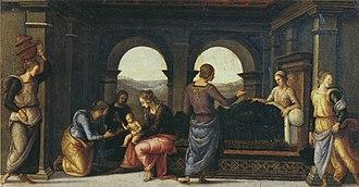 Fano Altarpiece - Image: Pietro Perugino cat 45c