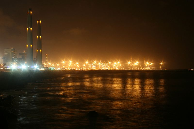 אורות בלילה