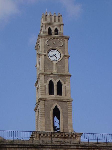 מגדל השעון, חאן עכו
