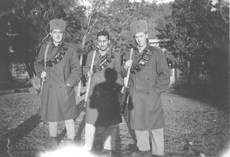 חיילים בפלוגות הלילה של וינגייט