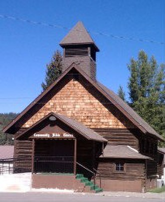 Pinehurst, Idaho - Pine Creek Baptist Church, Pinehurst