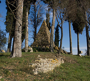 Battle of Montaperti - Image: Piramide montaperti