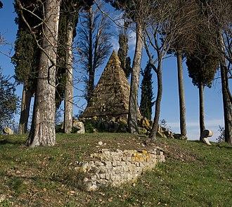 Battle of Montaperti - Image: Piramide montaperti