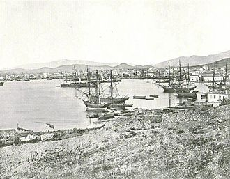 Port of Piraeus - The port in 1892.