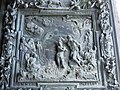 Pisa cathedral - Relief of the baptism of Jesus Christ.jpg