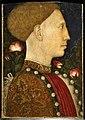 Pisanello, ritratto di leonello d'este, 1441, 01.jpg