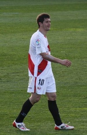 Piti (footballer) - Piti in action for Rayo Vallecano in 2011