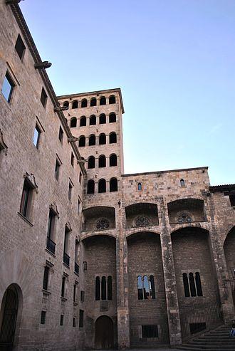 Plaça del Rei - Mirador del Rei Martí