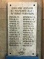 Plaque commémorative apposée dans le hall du bâtiment de Wikimédia Arménie à Erevan.JPG