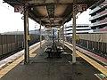 Platform of Rokujizo Station (JR) 2.jpg