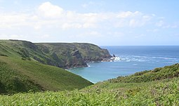 Plemont north coast cliffs Jersey.jpg
