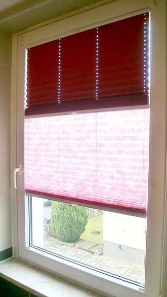 Window blind - Pleated blind