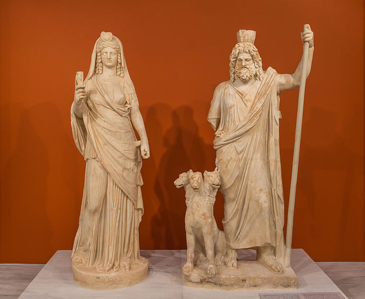 an overview of the ancient greek mythology of the god persephone Persephone was the ancient greek goddess of spring and the queen of the underworld she was depicted as a stately woman holding a torch her roman name was proserpina.