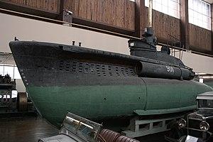 CB-class midget submarine - Image: Podmornica CB20 (P901)