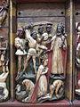 Polittico di Santa Caterina di artista inglese del sec. XV (attr.), dettaglio, (2).JPG