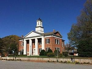 Polk County, North Carolina - Image: Polk County Courthouse Columbus, NC