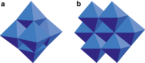 Molybdate - Image: Polyederstrukturen Molybdän