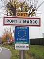 Pont-à-Marcq-FR-59-panneau d'agglomération-02.jpg